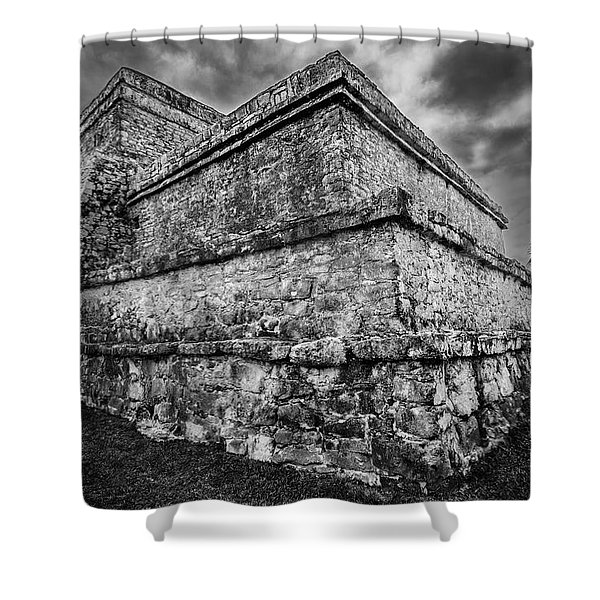Ruin At Tulum Shower Curtain