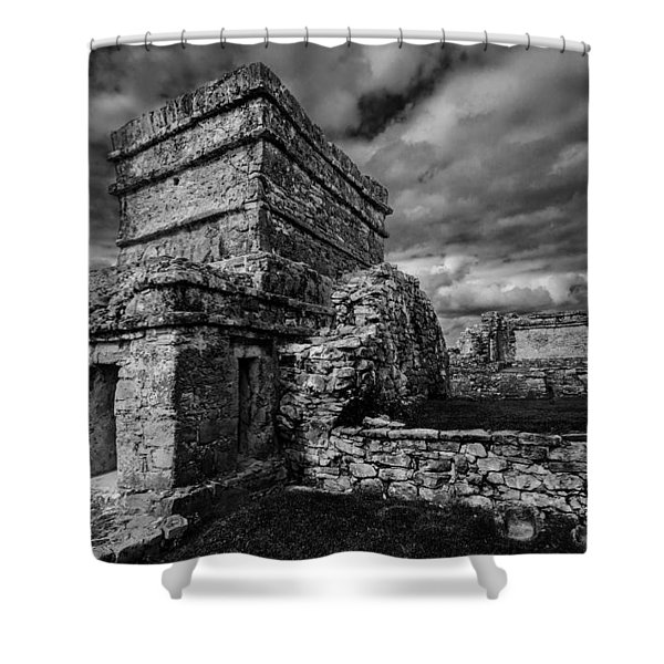 Ruin Shower Curtain