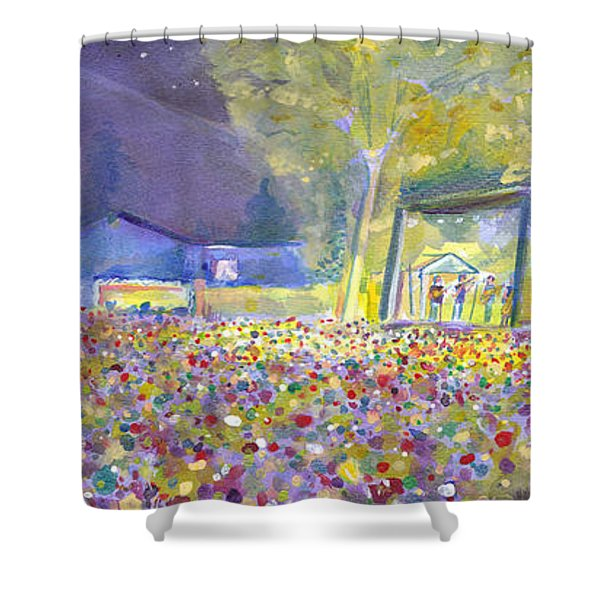 Head For The Hills At The Mish 2011 Shower Curtain