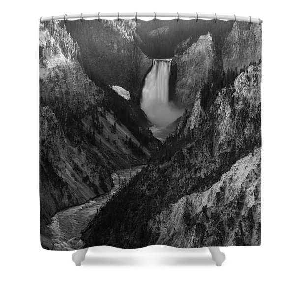Running Deep Shower Curtain