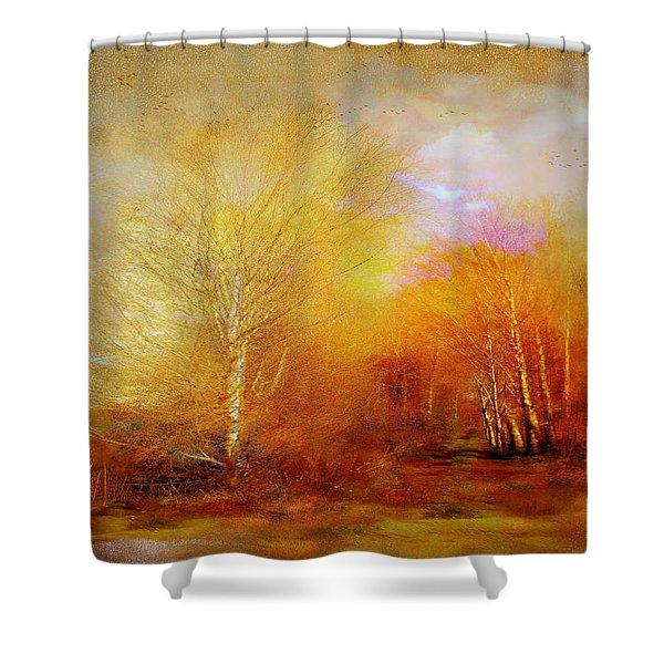 Russet Lane Shower Curtain
