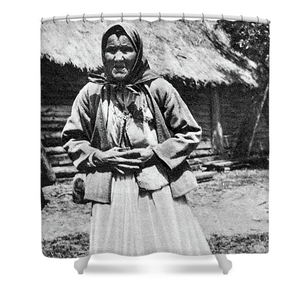 Russian Famine, 1921 Shower Curtain