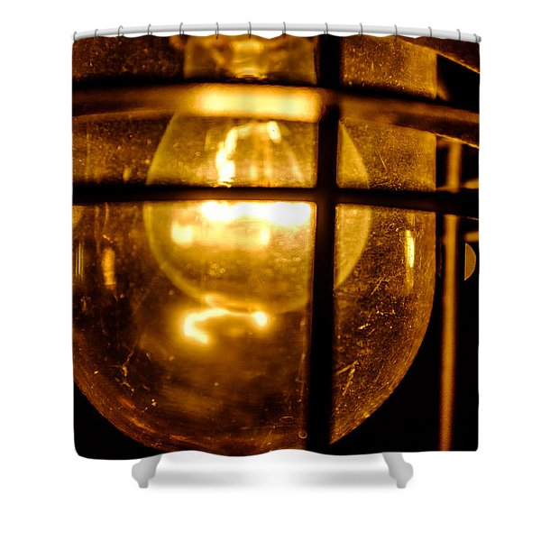 Rust Light Shower Curtain