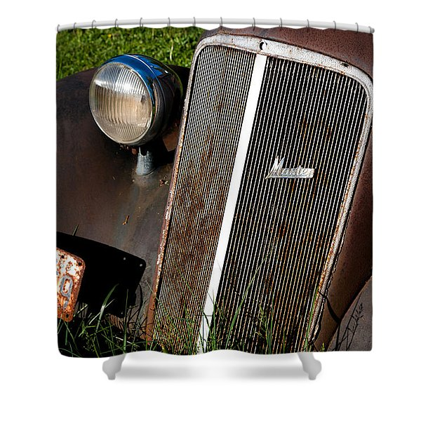 Rusted Master Shower Curtain