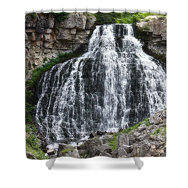 Rustic Falls Shower Curtain