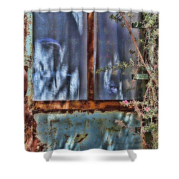 Rusty Charm By Diana Sainz Shower Curtain