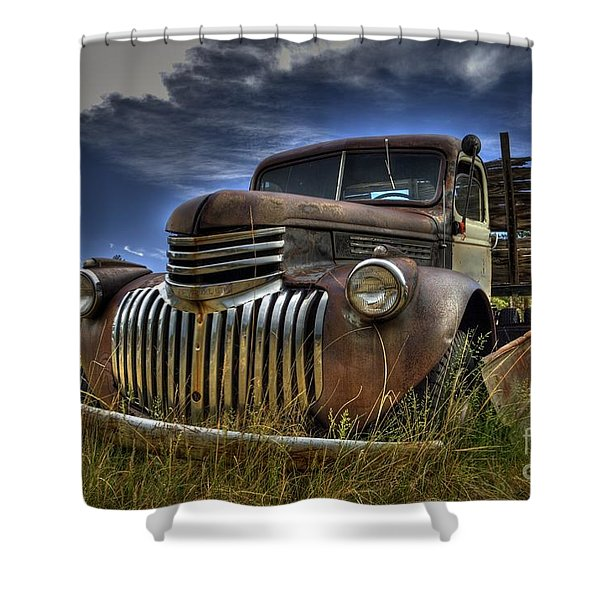 Rusty Relic Shower Curtain