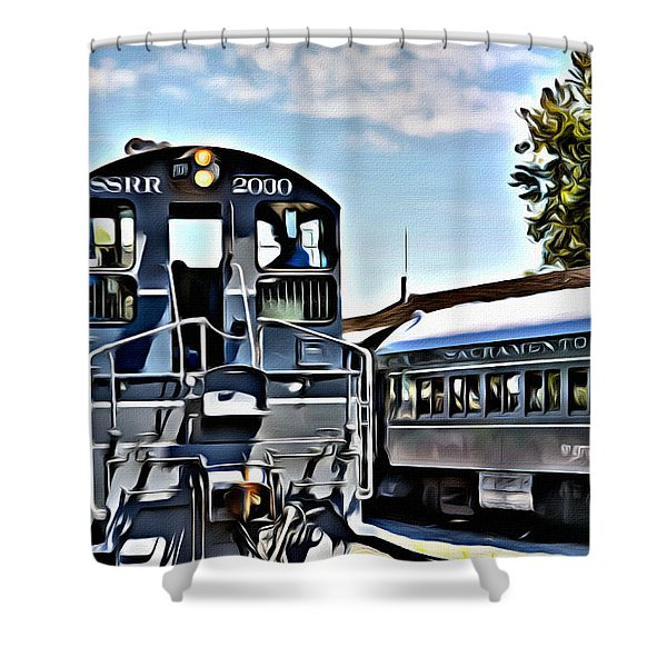 Sacramento Southern Shower Curtain