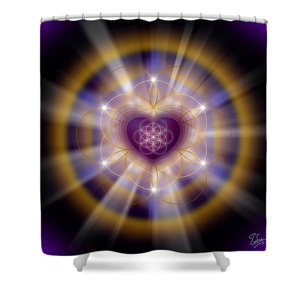 Sacred Geometry 204 Shower Curtain