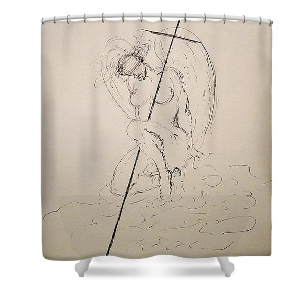 Sacred Shower Curtain