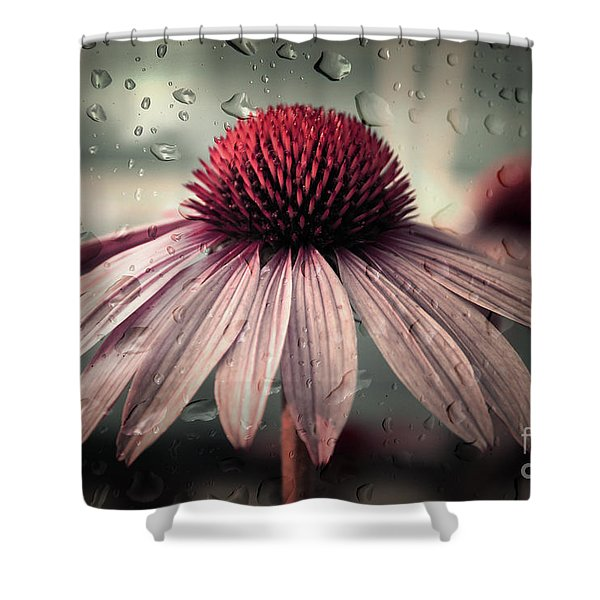 Sad Solitude Shower Curtain
