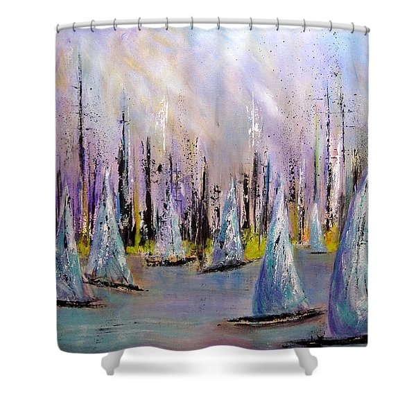 Sail II Shower Curtain
