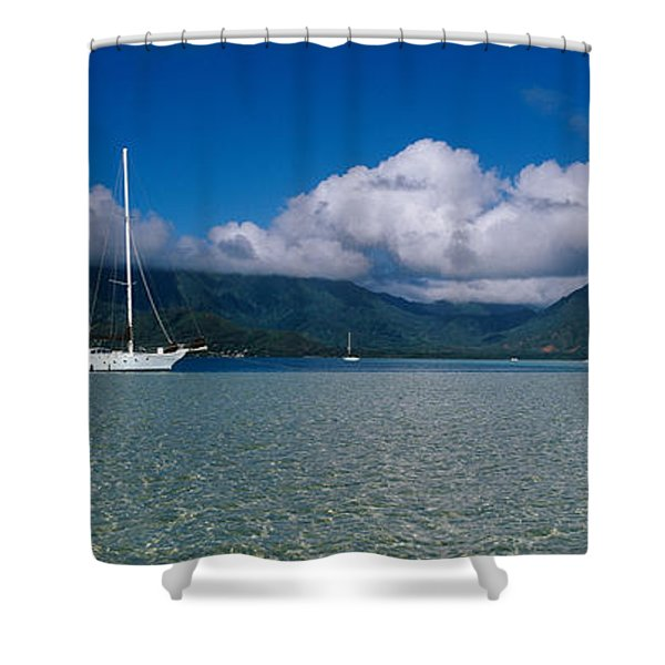 Kaneohe Bay Shower Curtains Fine Art America
