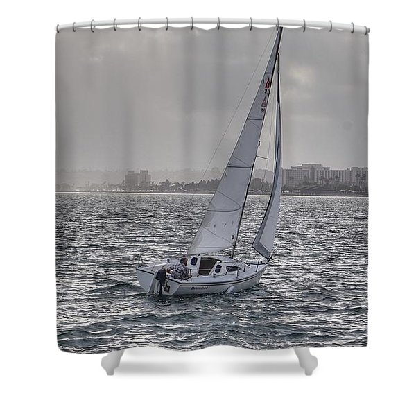 Sailing Bliss  Shower Curtain