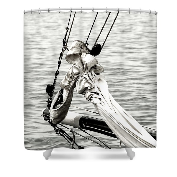 Sailing The Seven Seas Shower Curtain