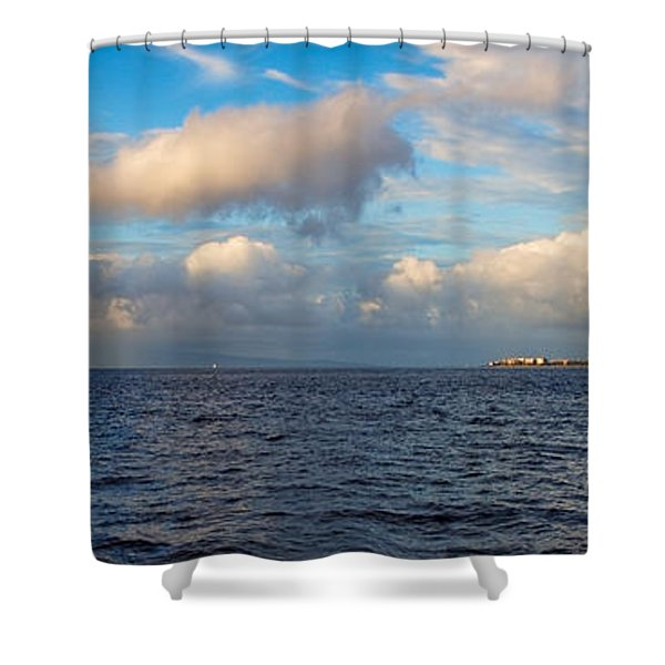 Sailing To Lahaina Shower Curtain