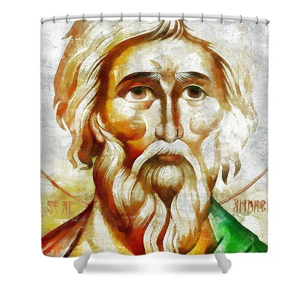 Saint Andrew  Shower Curtain