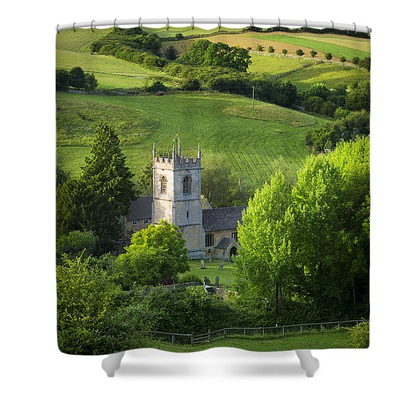 Shower Curtain featuring the photograph Saint Andrews - Cotswolds by Brian Jannsen