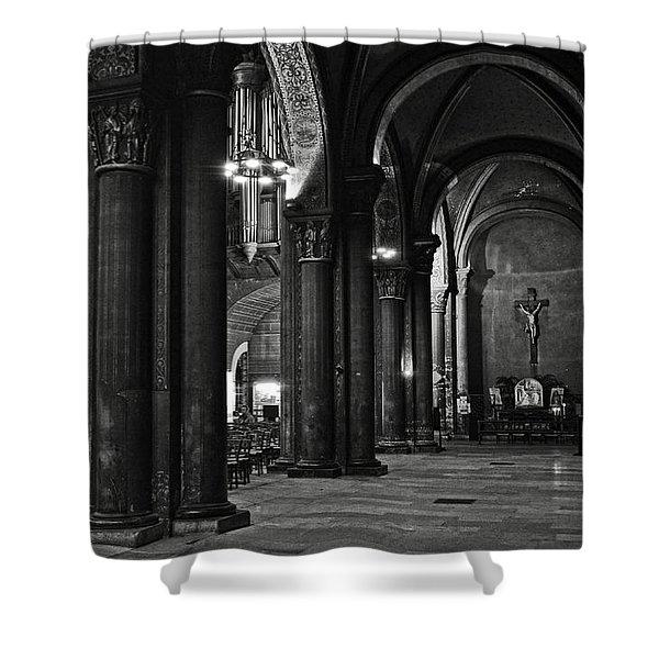 Saint Germain Des Pres - Paris Shower Curtain