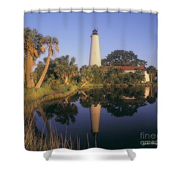 Saint Mark's Lighthouse Shower Curtain