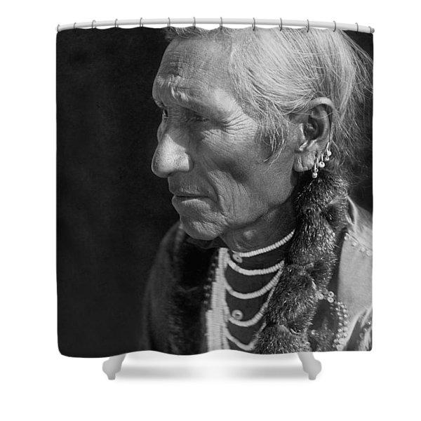 Salish Indian  Circa 1910 Shower Curtain