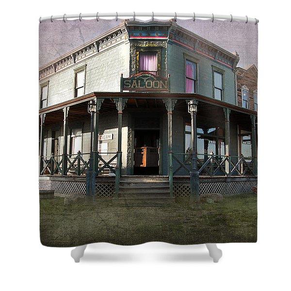 Saloon Shower Curtain