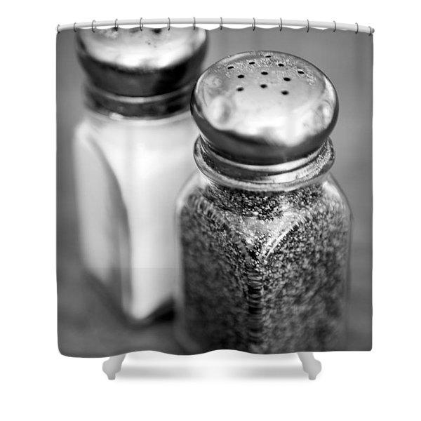 Salt And Pepper Shaker Shower Curtain