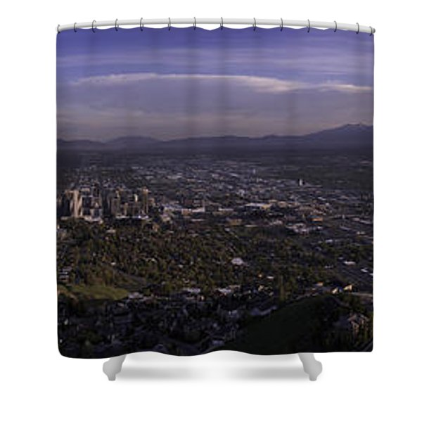 Salt Lake Valley Shower Curtain