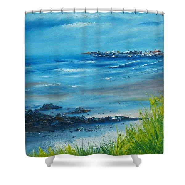 Salthill Galway Shower Curtain