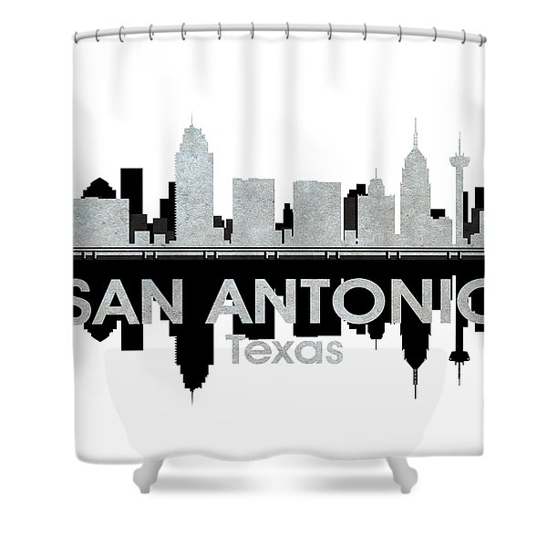 San Antonio Tx 4 Shower Curtain