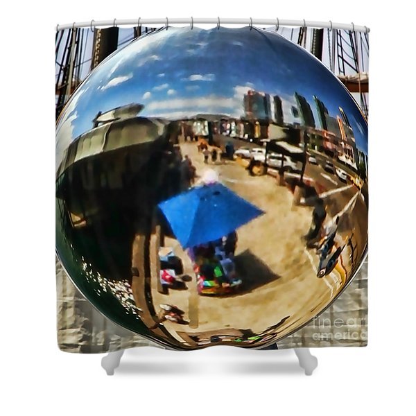 San Diego Round Up By Diana Sainz Shower Curtain