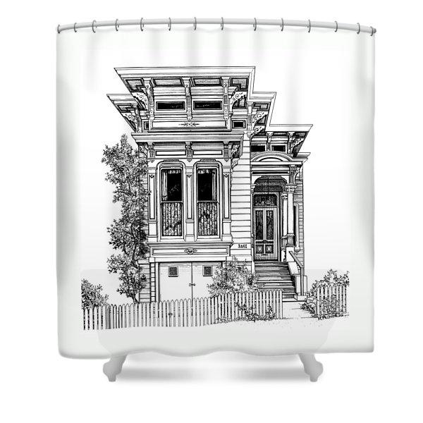 San Fracisco Victorian2 Shower Curtain