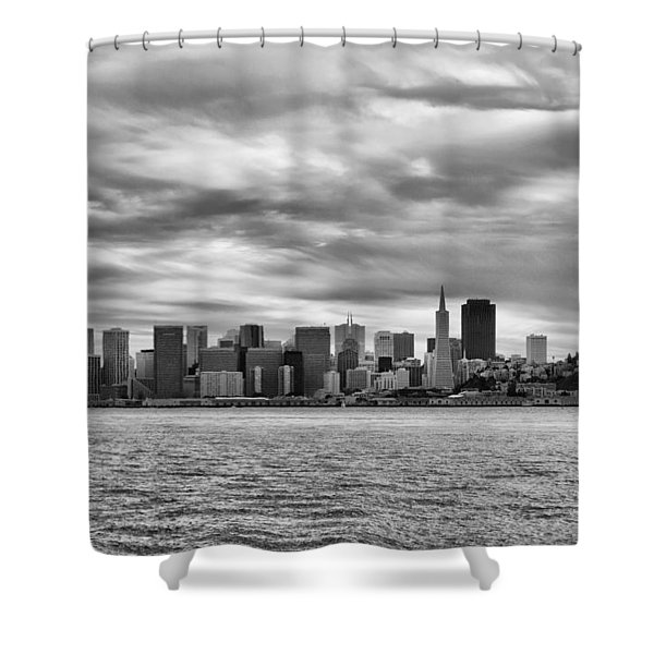 San Francisco Bay Shower Curtain