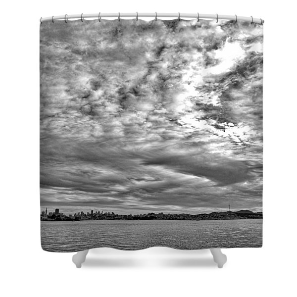 San Francisco Clouds Shower Curtain