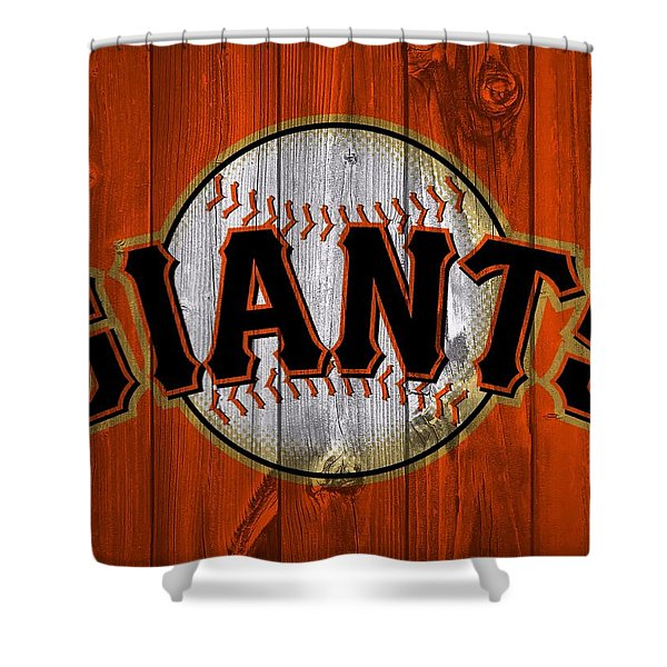 San Francisco Giants Barn Door Shower Curtain