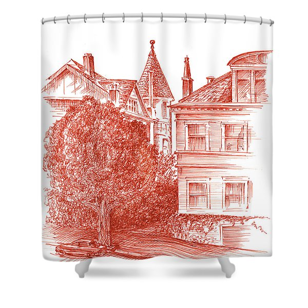 San Francisco Jackson Street Shower Curtain