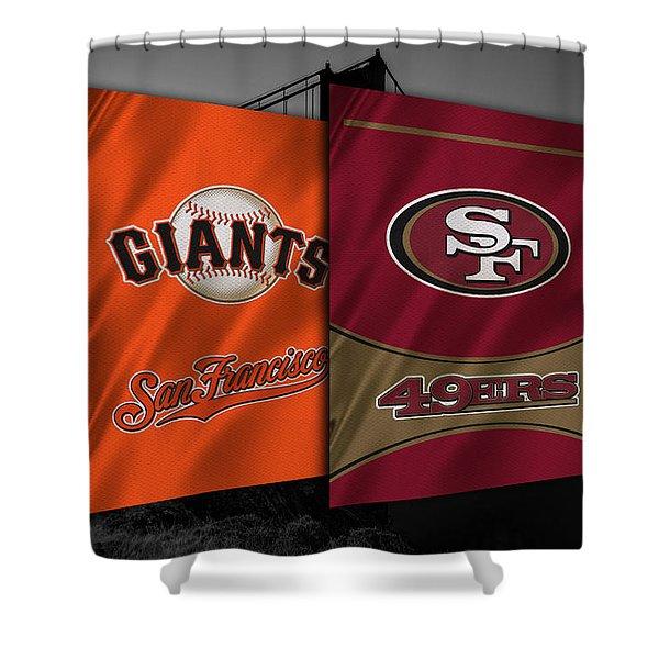 San Francisco Sports Teams Shower Curtain