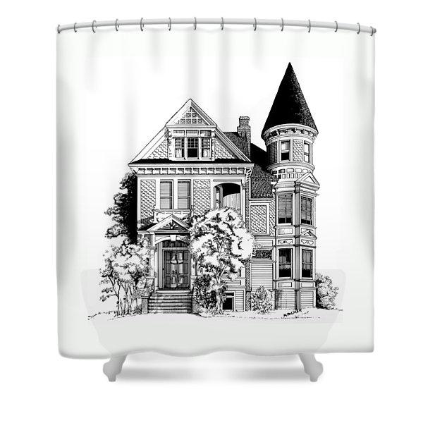 San Francisco Victorian Shower Curtain