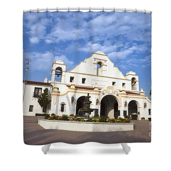 San Gabriel Mission Playhouse Shower Curtain