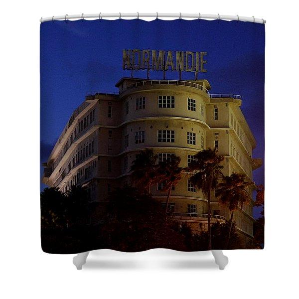 San Juan - Normandie Hotel Shower Curtain