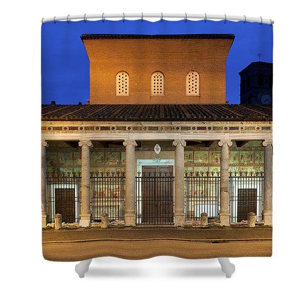 San Lorenzo Fuori Le Mura Shower Curtain