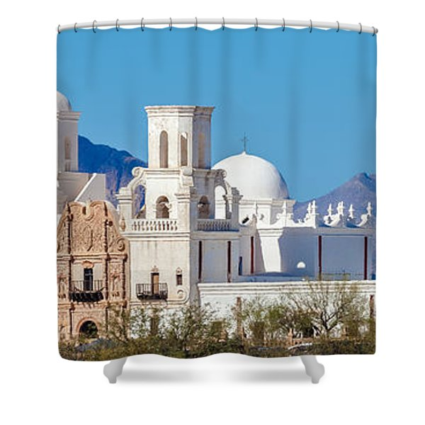 San Xavier Del Bac Mission Shower Curtain