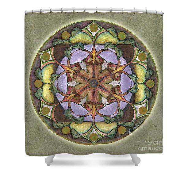 Sanctuary Mandala Shower Curtain