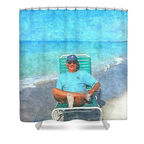 Sand Between Your Toes Shower Curtain