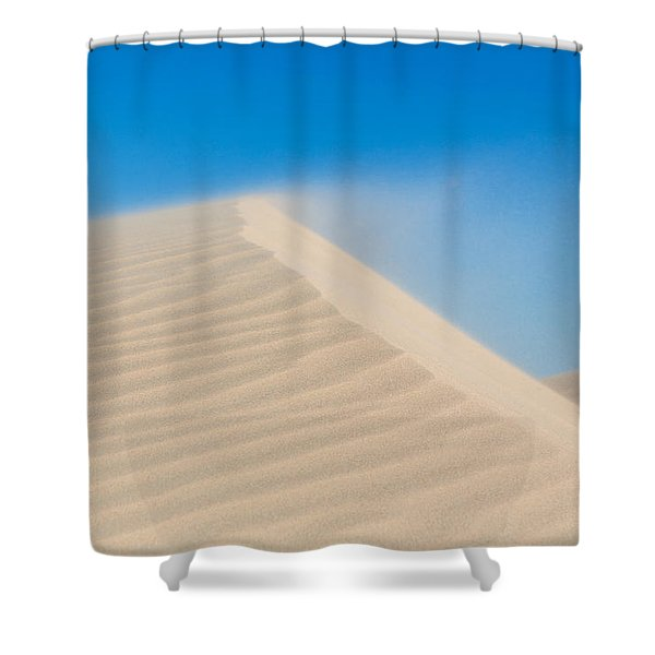 Sand Blowing Off A Dune Shower Curtain