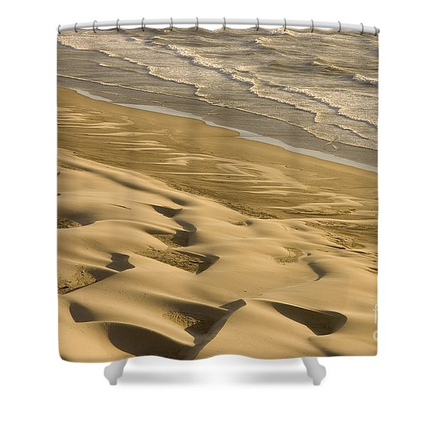 Sand Dunes, Oregon Shower Curtain