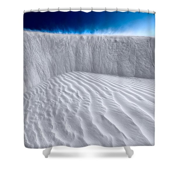 Sand Storm Brewing Shower Curtain