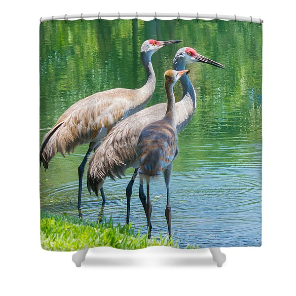 Mom Look What I Caught Shower Curtain