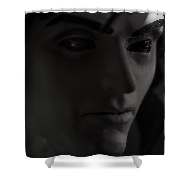 Sandman Portrait - Morpheus Shower Curtain