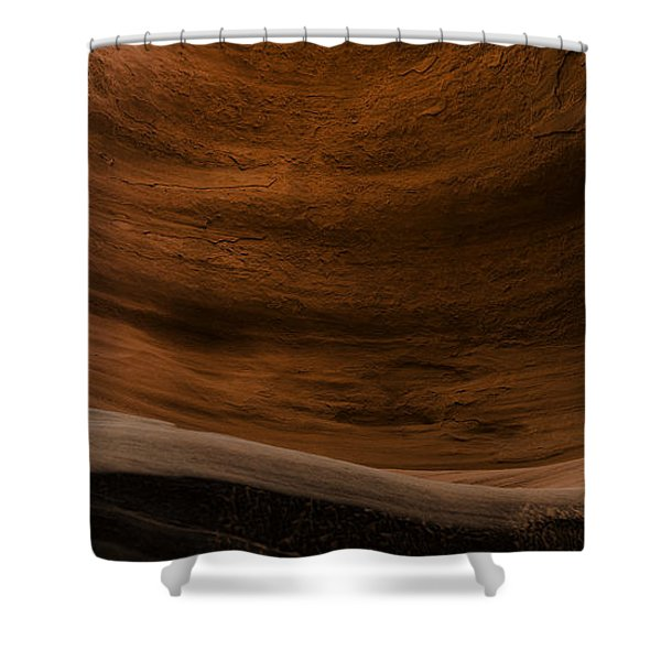 Sandstone Flow Shower Curtain
